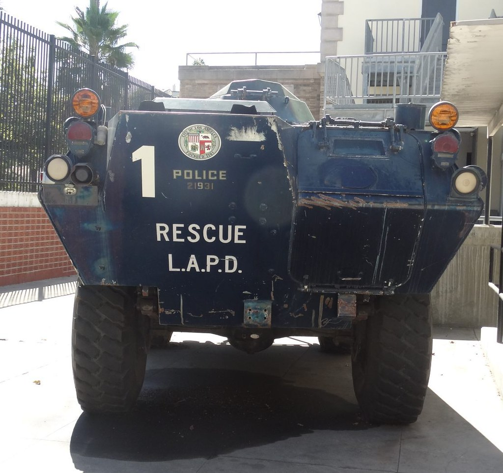 Lapd Cadillac Gage Commando V100 Armored Vehicle 8 Flickr