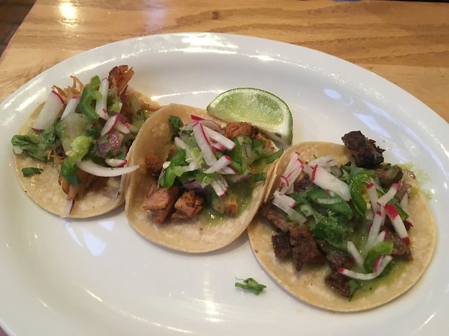 Assorted tacos - The Castro Republic