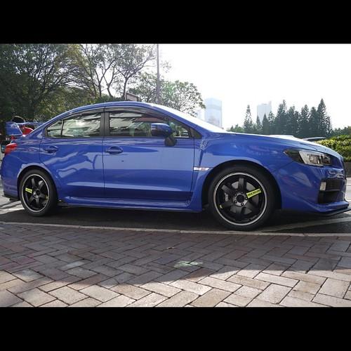 Rays X Subaru X Yokohama Subaru Wrx Sti 2015 Wheels Spe