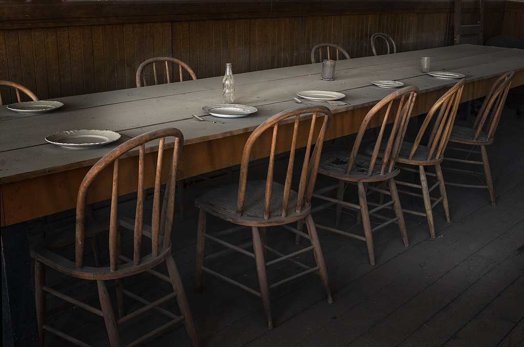 ... Old Dinner Table At Bodie | By Richard Harrison