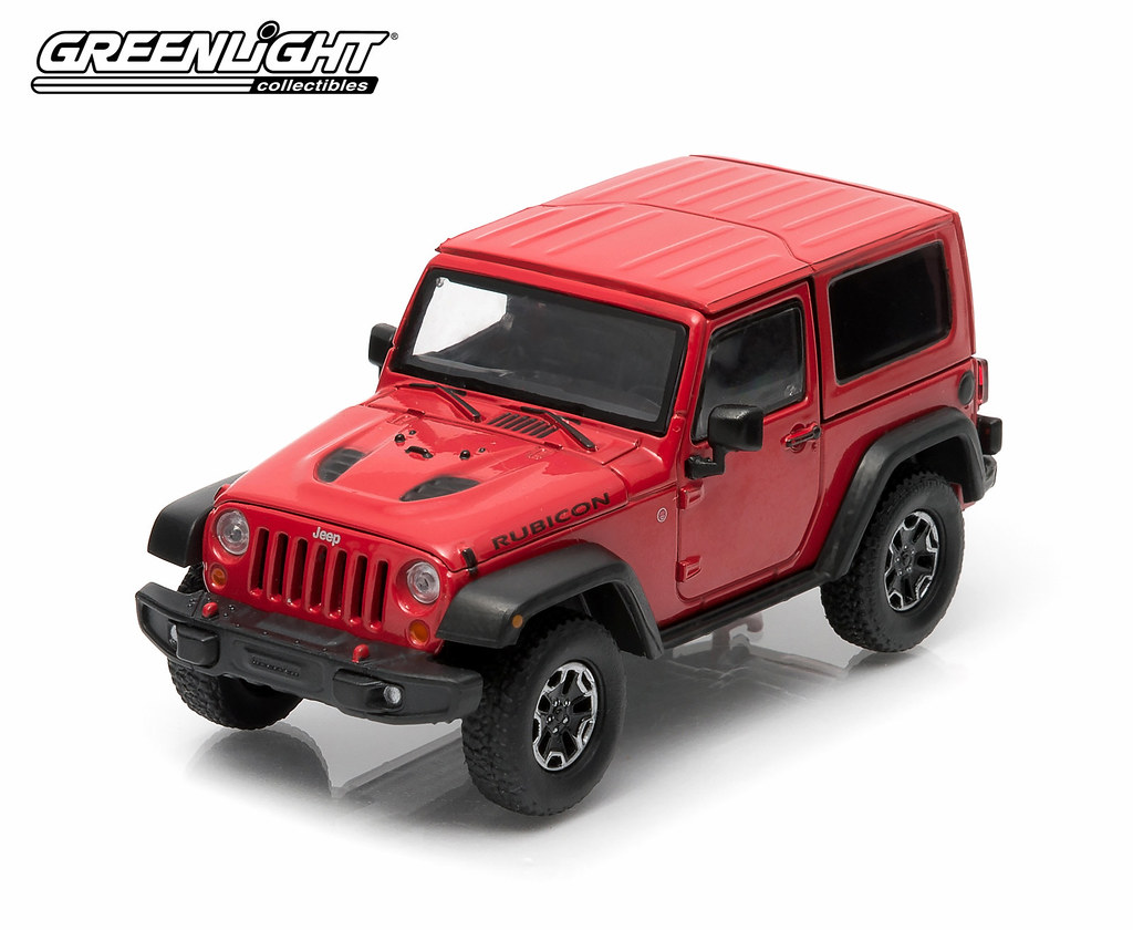... 86062   1 43 Jeep   2014 Jeep Wrangler Rubicon X   Flame Red Clear