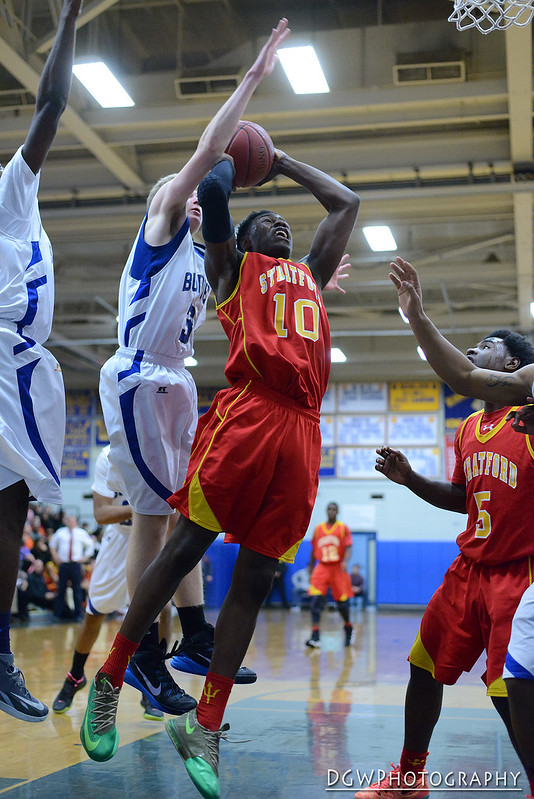Stratford vs. Bunnell - Boys High School Basketball