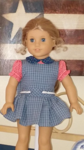 17 to 18 Inch Doll school Jumper and Blouse | by Stitchcottage
