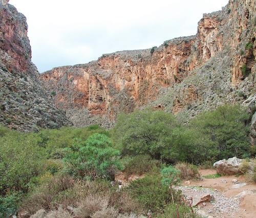 Gorge of the Dead, Kato Zakros, Crete  Martin Brewster ...