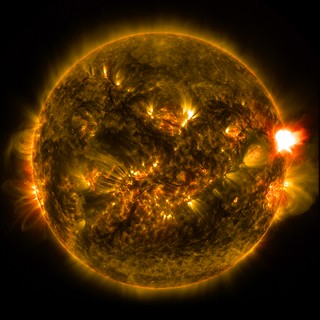NASA Releases Images of 1st Notable Solar Flare of 2015 | by NASA Goddard Photo and Video