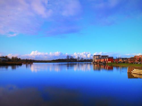 Blue lake | Blue lake The Gaatkenplas in pure calmess. Just … | Flickr