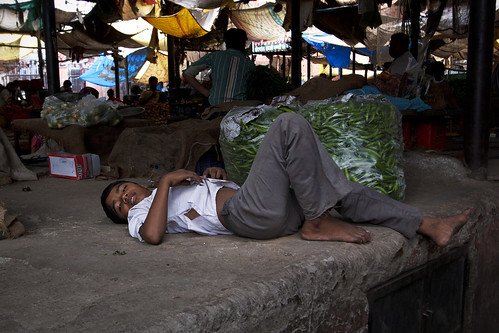 boy relaxing at market | by alfieianni.com