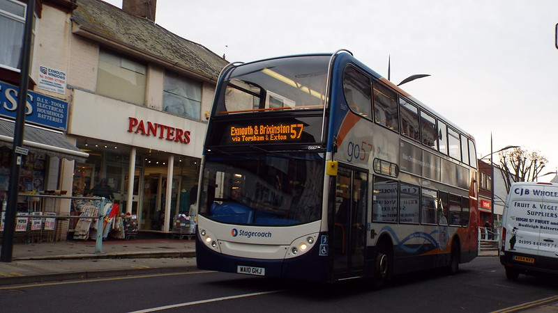 Stagecoach - WA10GHJ - Exmouth - 2 December 2014