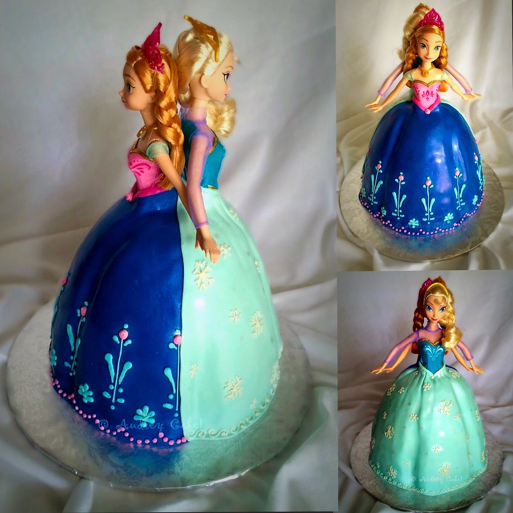 Frozen Elsa Anna Birthday Cake The Cake Chic Flickr