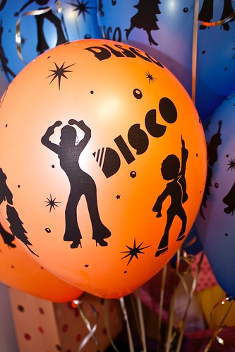 disco party balloons | by Julia Koefender