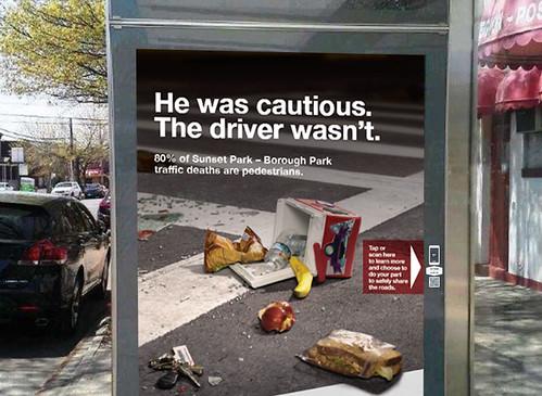 NYC Vision Zero ad
