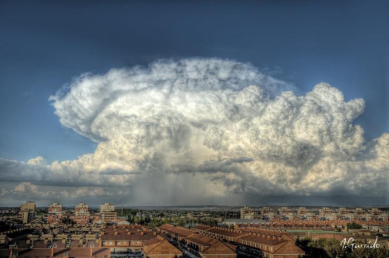 Nubarrones en el cielo