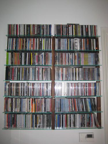 kundenfoto cd regal storay nussbaum cd shelving unit wal flickr. Black Bedroom Furniture Sets. Home Design Ideas