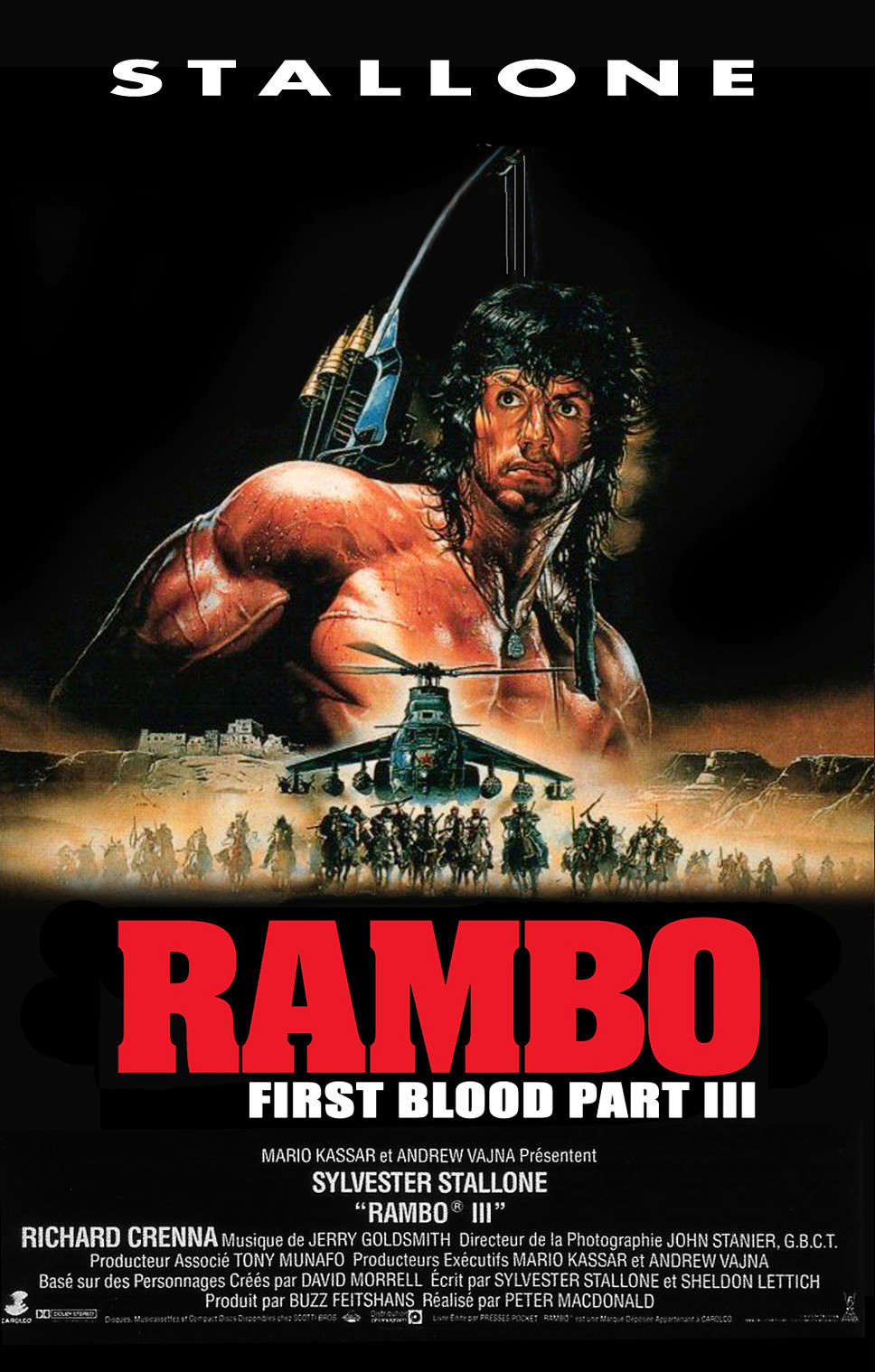 Rambo III (1988) | Amazing Movie Posters