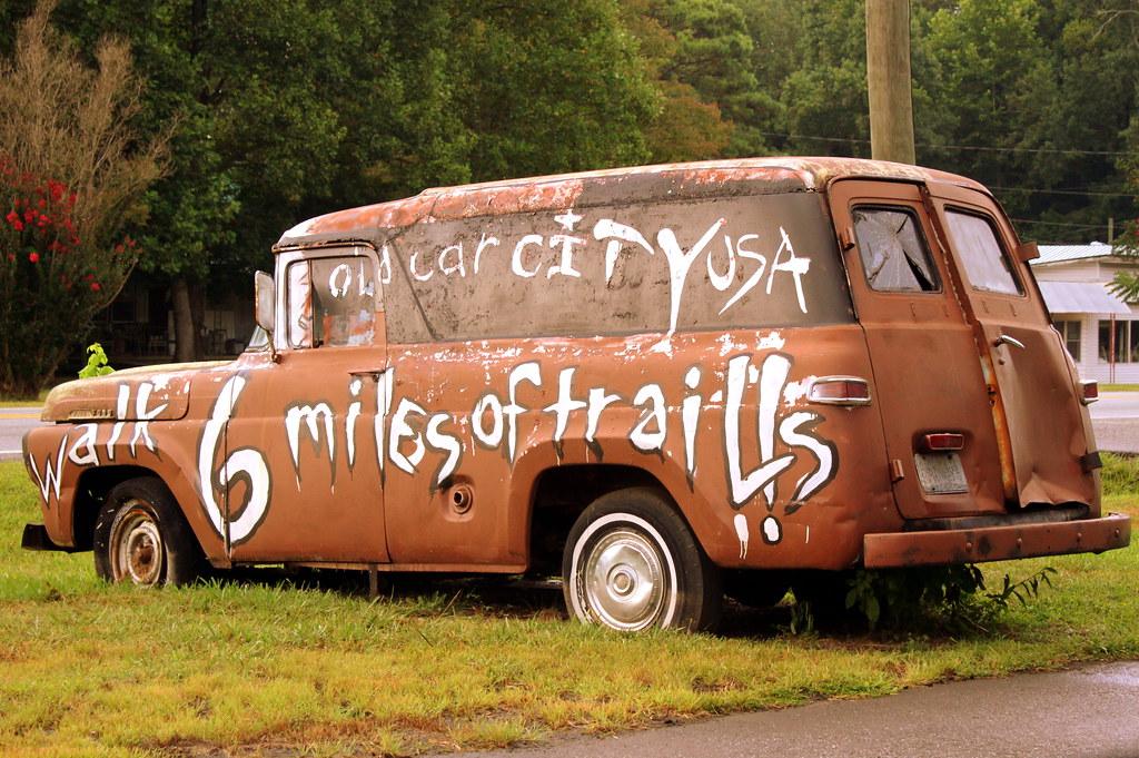 Old Car City, USA - White, GA | Walk 6 miles of trails! Loca… | Flickr