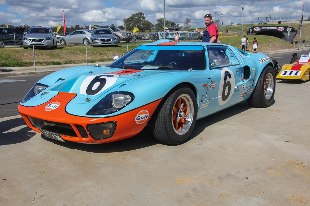 1969 Ford Gt40 Race Car Replica 1969 Ford Gt40 Race Car Re Flickr