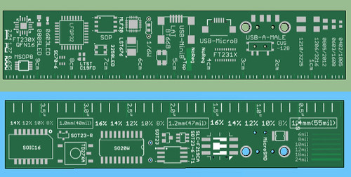 PCB Ruler v2 | by ONBOARD formerly DENSIKIT.COM