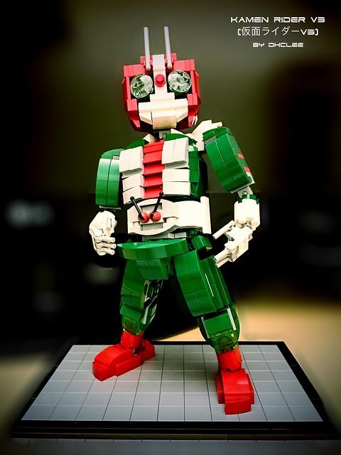 Lego - Kamen Rider v3