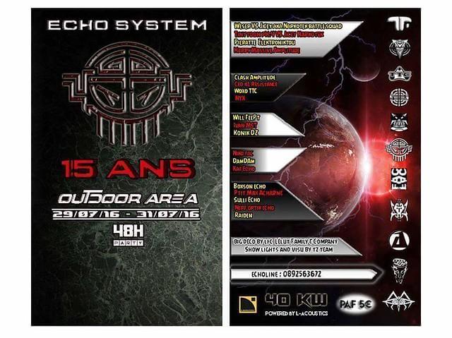 Echo System 15 ans