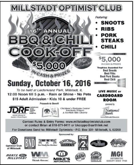Millstadt BBQ & Chili 10-16-16