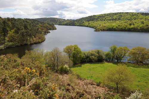 Lac de guerl dan photo michel langle ot pontivy communau offices de tourisme lac de - Office de tourisme pontivy ...
