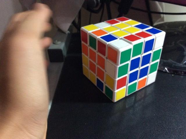 魔術方塊四階9連解 吳東東