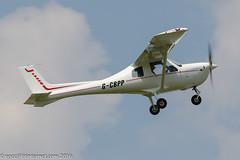 G-CBPP - 2004 build Jabiru UL-450, climbing on departure from Runway 08R at Barton