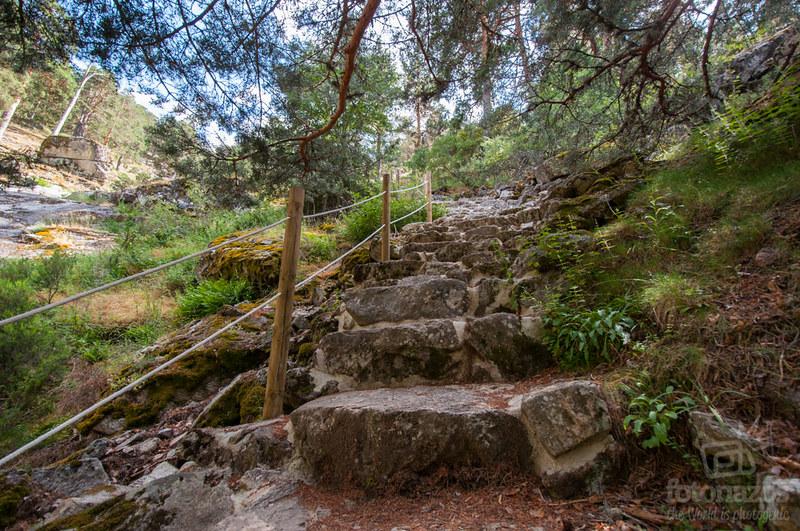 Ruta al Chorro de Navafría