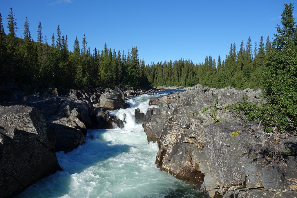 Impressive Darrhaädno rapids.