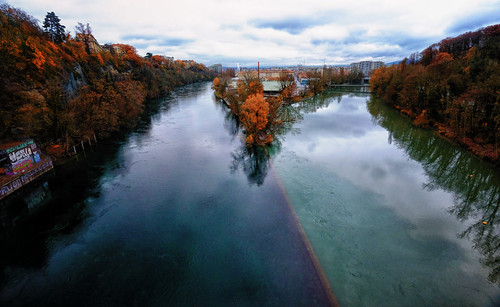Converging Rivers in Geneva, Switzerland | by ` Toshio '
