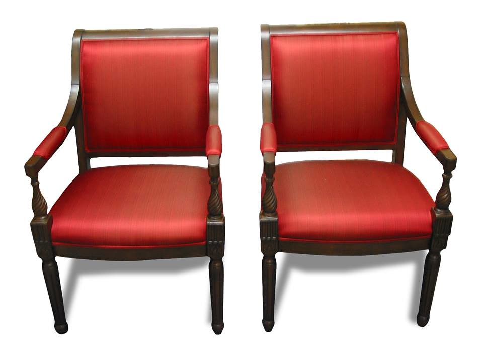 ... Matching Red Office Chairs From DrSofa.comu0027s Reupholstry Professionals  | By Dr.sofa