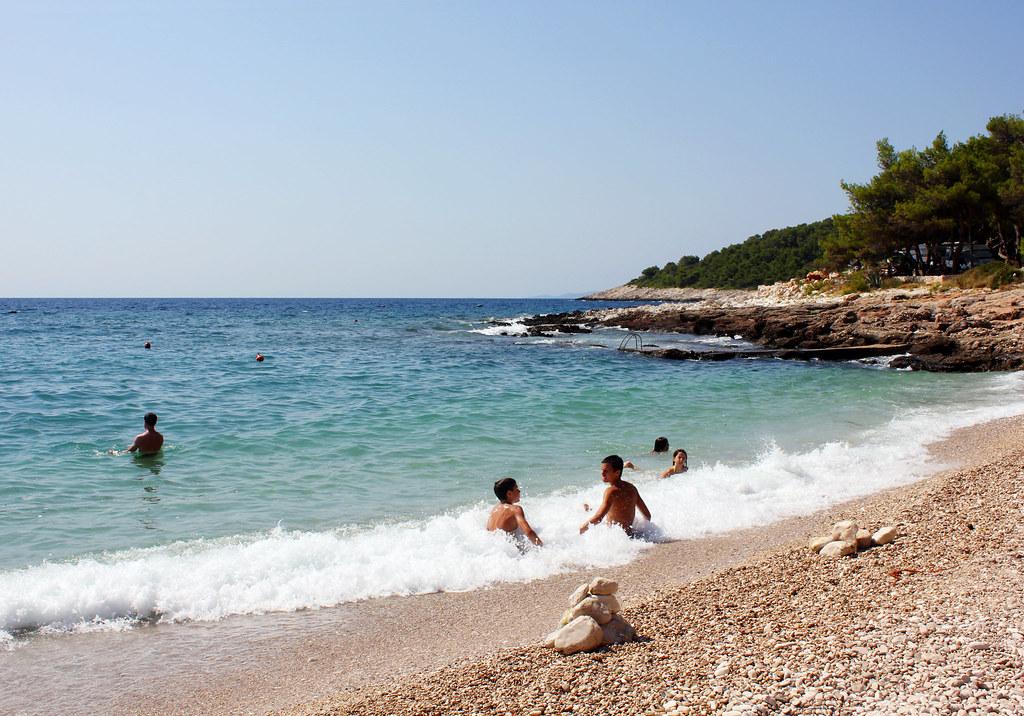 Hvar Croatia beach Milna