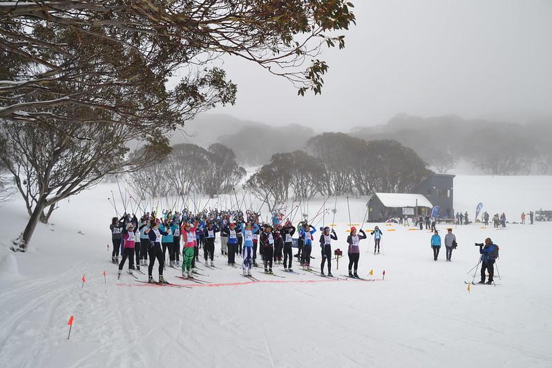 Nordic Bowl Falls Creek Ski de Femme
