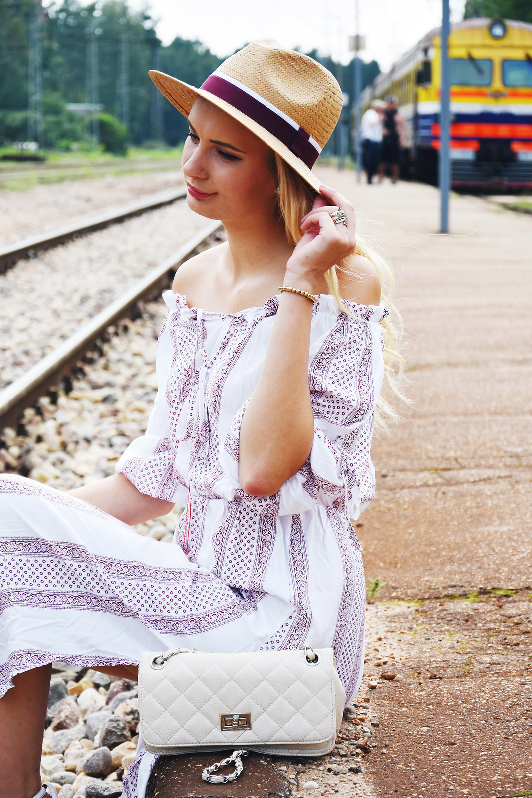 Latvian fashion and beauty blogger