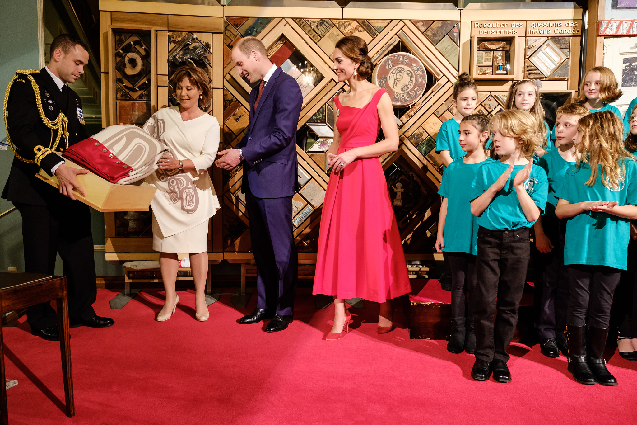 Government House reception during the #RoyalTour