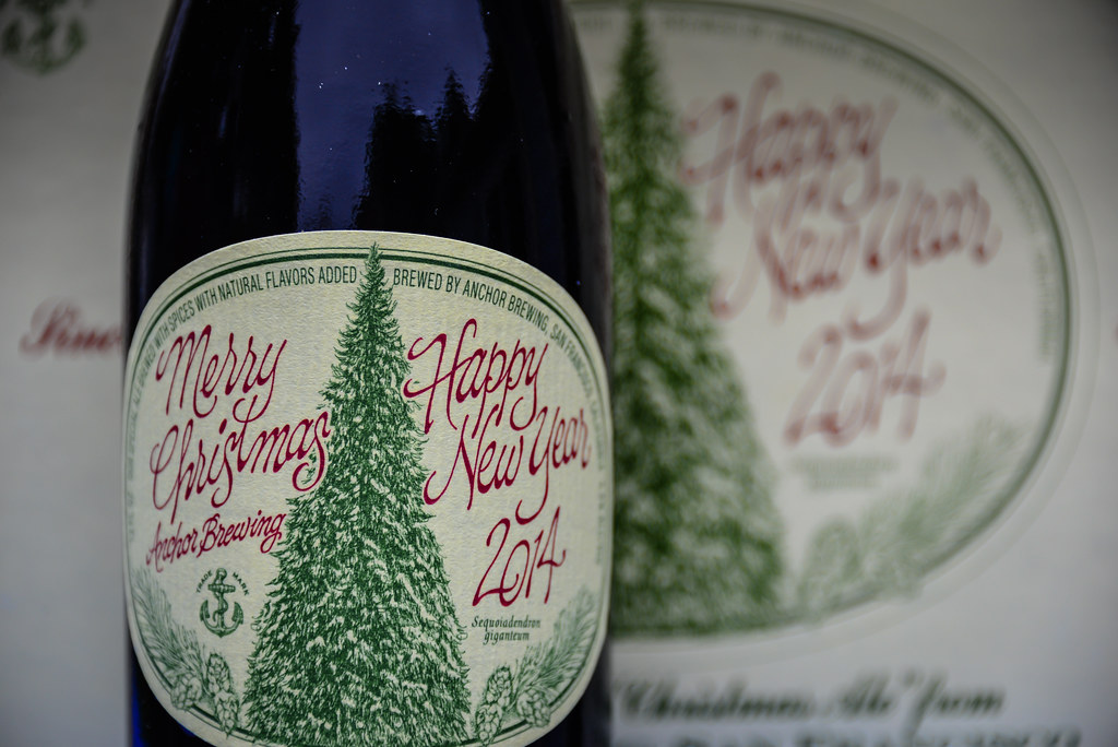 Anchor Brewing 2014 Merry Christmas Happy New Years Christmas Ale San Francisco Ca By