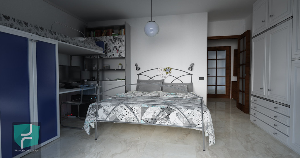 Architectural Render - Interior Design - Camera da letto | Flickr