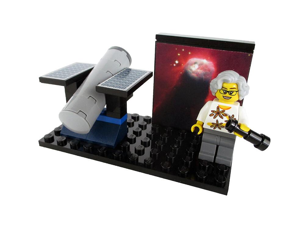 """Women of NASA on LEGO Ideas - Nancy Grace Roman """"Mother of Hubble"""""""