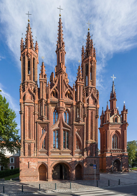 St Anne's Church, Vilnius, Lithuania