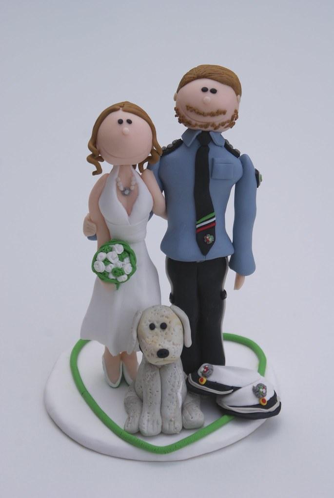 Polizei Hochzeitstortenfigur Www Suessesatelier De Flickr