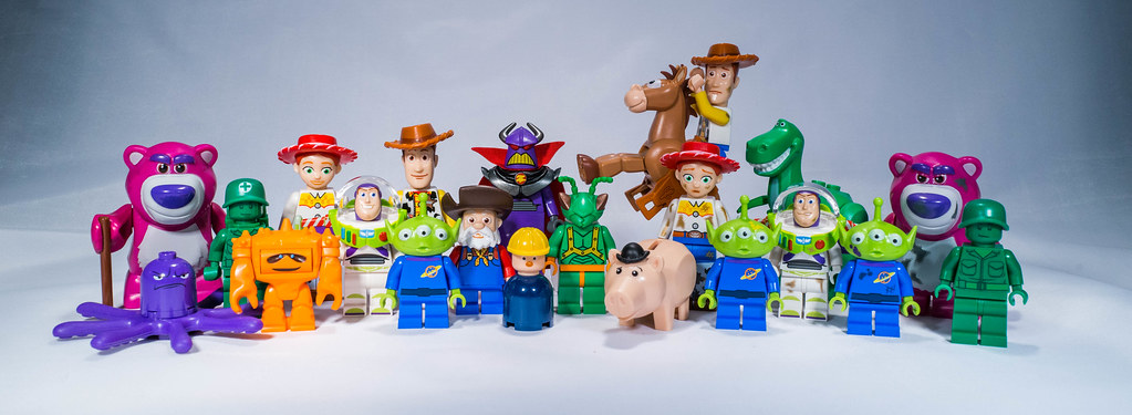 All The Lego Toy Story Minifigs In One Picture All The Leg Flickr