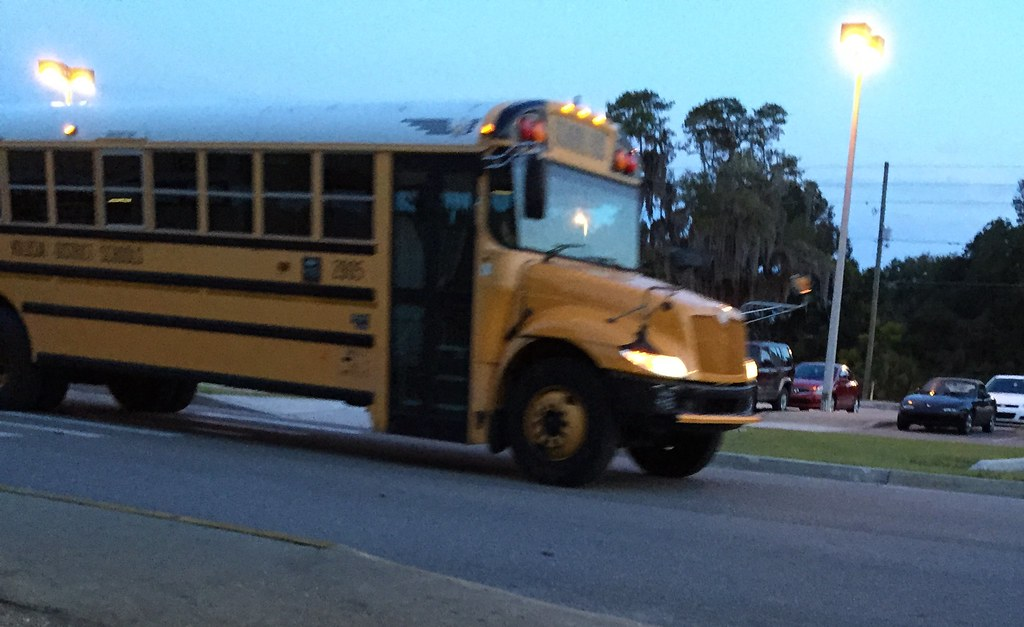 Volusia County School Bus | Bus: 2805 Route: 415 2008 BlueBi… | Flickr