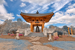 Korean Bell Garden - Winter Blue HDR | by Bold Frontiers