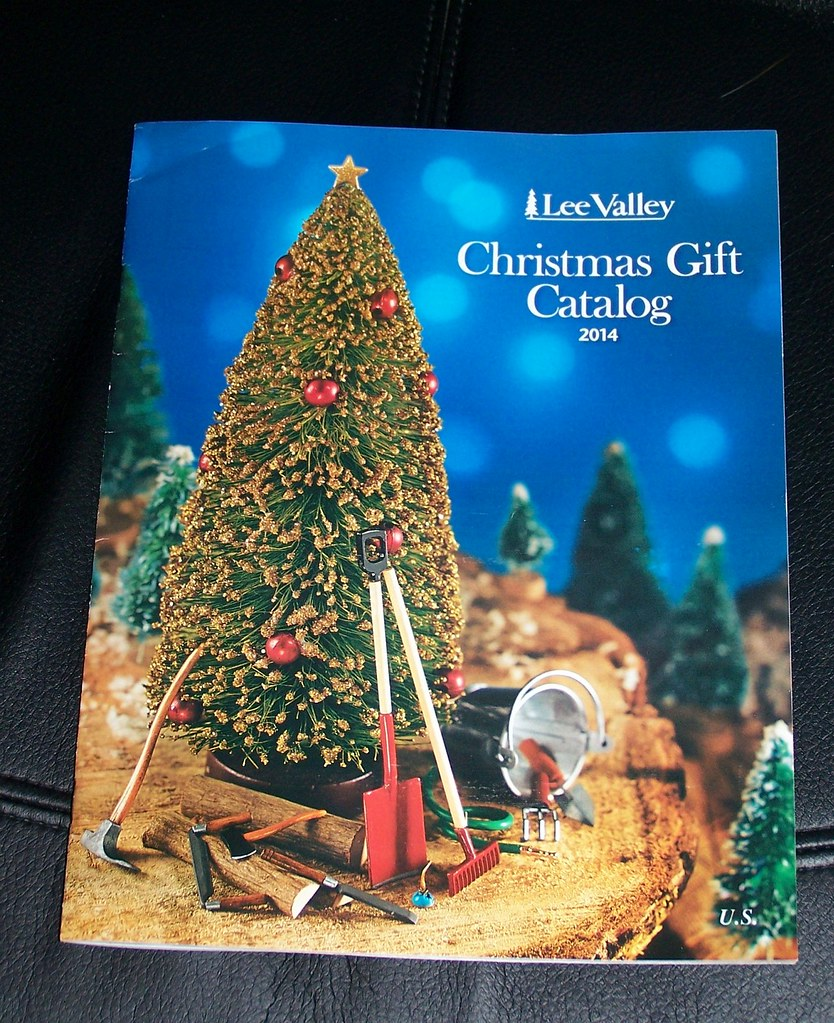 Lee Valley Hardware catalog, Christmas 2014 | It does not di… | Flickr