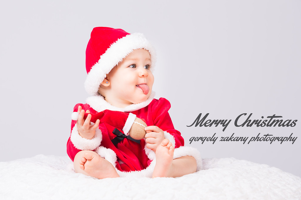 merry christmas little santa claus by dewfahphoto - Merry Christmas Baby
