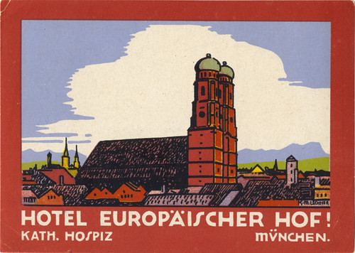 Hotel Europaischer Hof Munchen