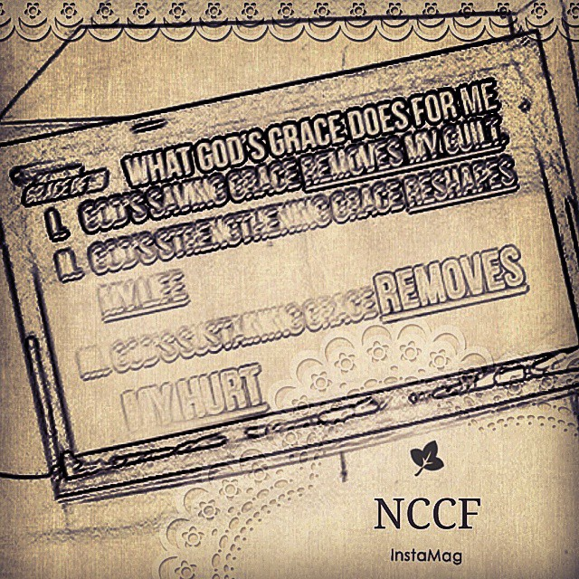 What God's Grace Does For Me? -God's Saving Grace, Remove