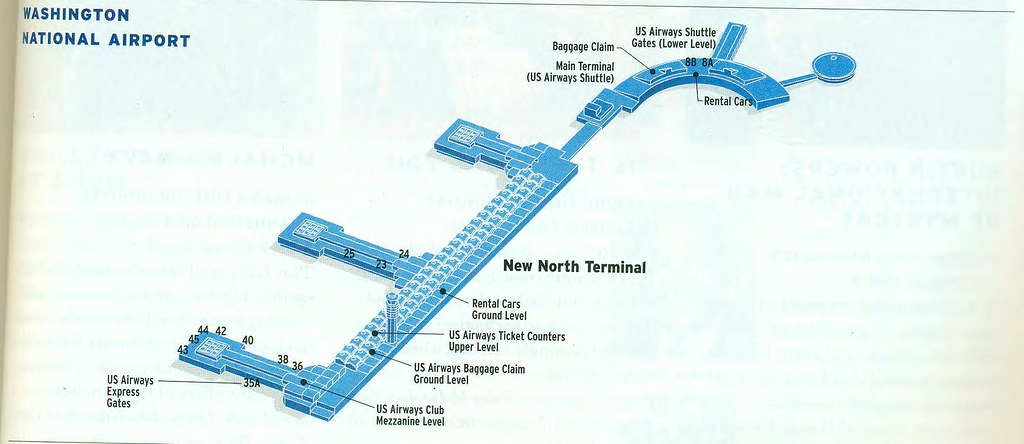 US Airways DCA diagram, September 1997 | US Airways diagram … | Flickr