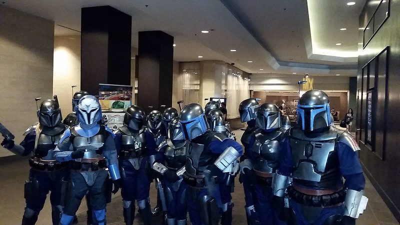 Mandalorians in the Lobby