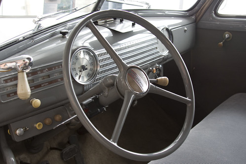 1941 Chevrolet Master Deluxe Coupe interior | Though not ...